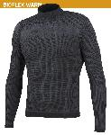 Alussärk Biotex 3D Turtleneck, must XL-XXL
